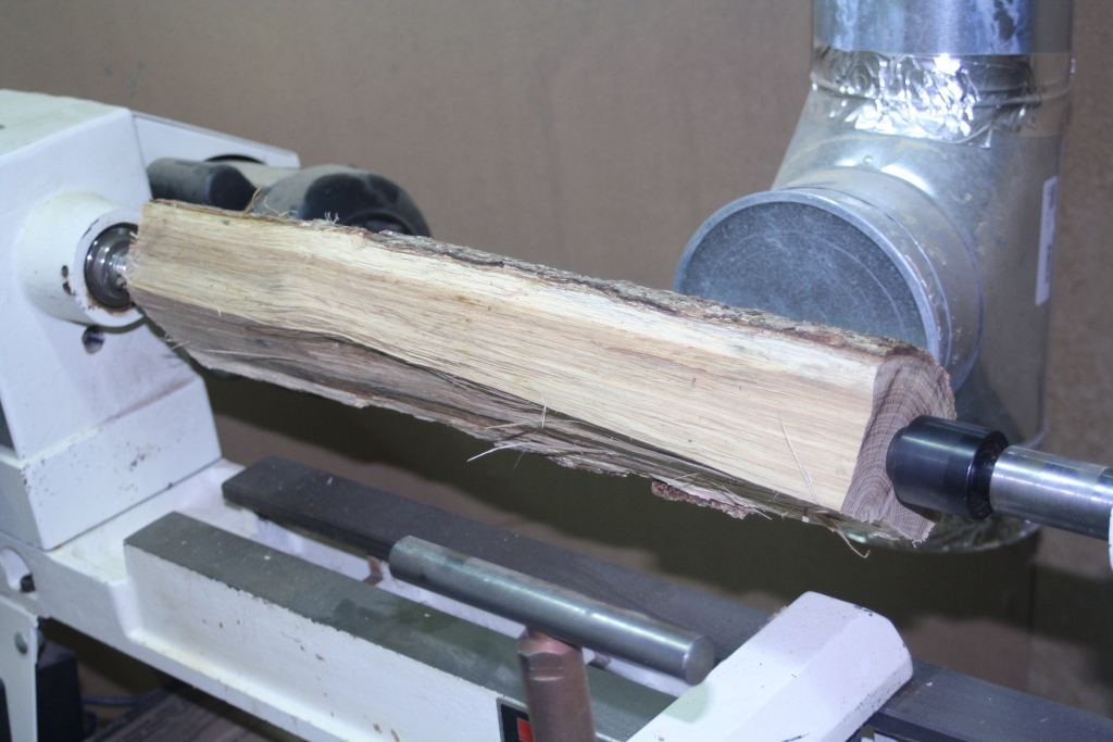 Ash Log From the Firewood Pile | Borouz Woodworking