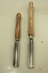Roughing gouge comparison
