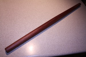 Purpleheart French Rolling Pin