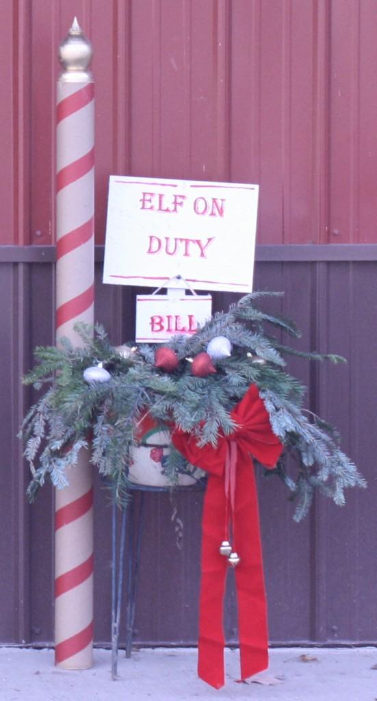 Elf On Duty