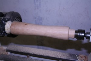 Turned and Sanded Mill Body