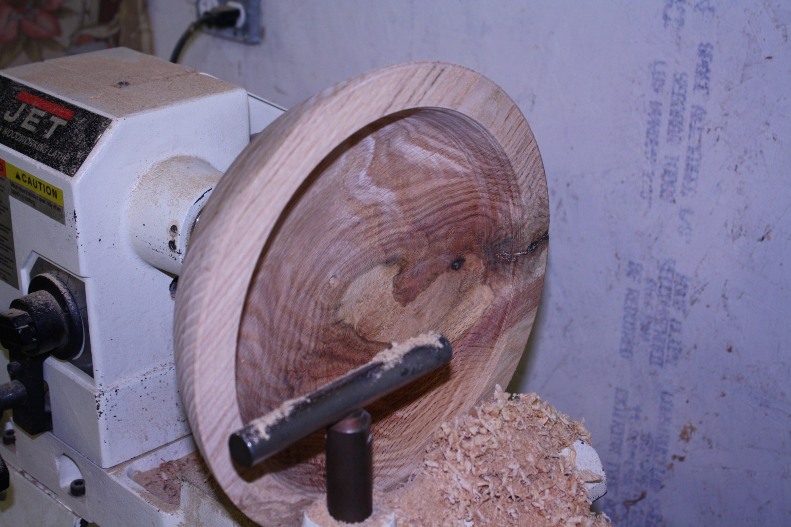 Roughing a Bowl
